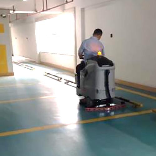 北海停车场清洁环氧树脂地面用洗地机Ranger 660B
