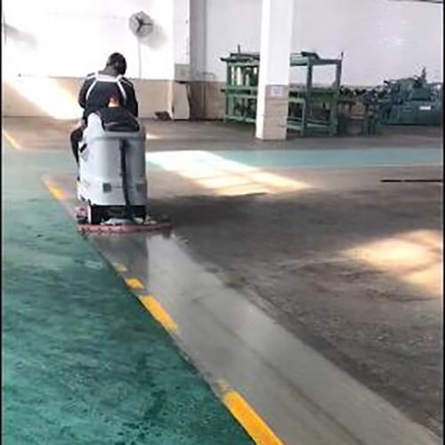 柳州清洁车间油污地面用洗地机Ranger 660B