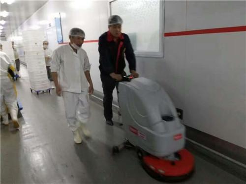 广西洗地机助力食品厂安全生产