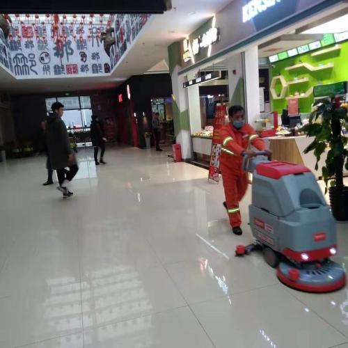 南宁环壮洗地机入驻高速服务区