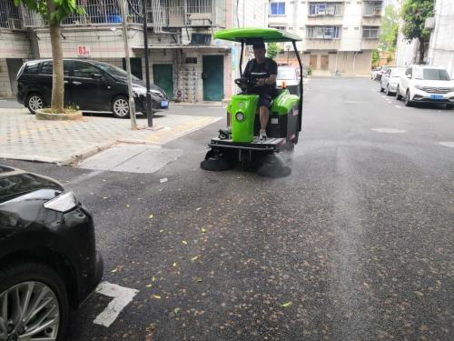 如何正确操作电动扫地车?